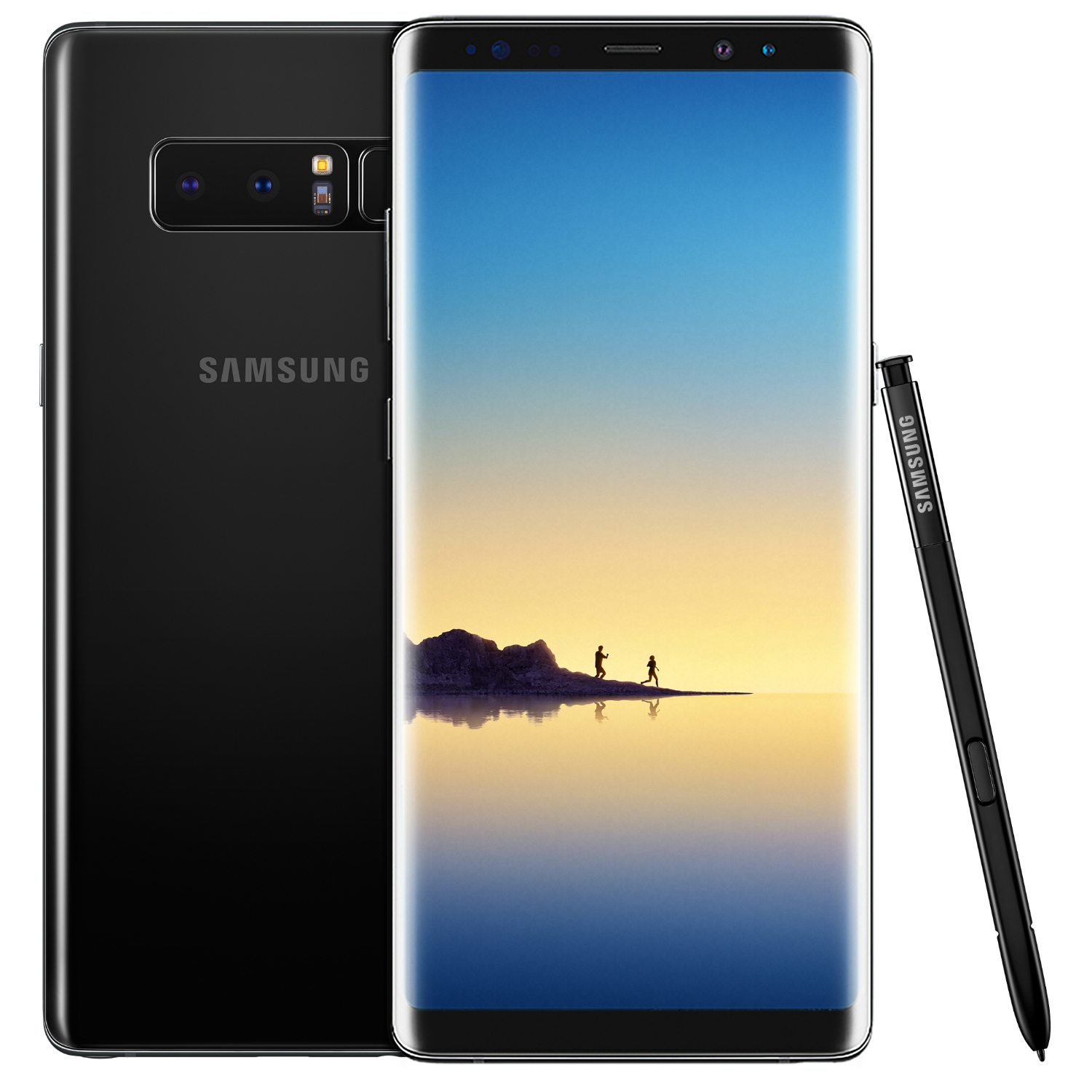 samsung galaxy note 8 64gb midnight black. Black Bedroom Furniture Sets. Home Design Ideas
